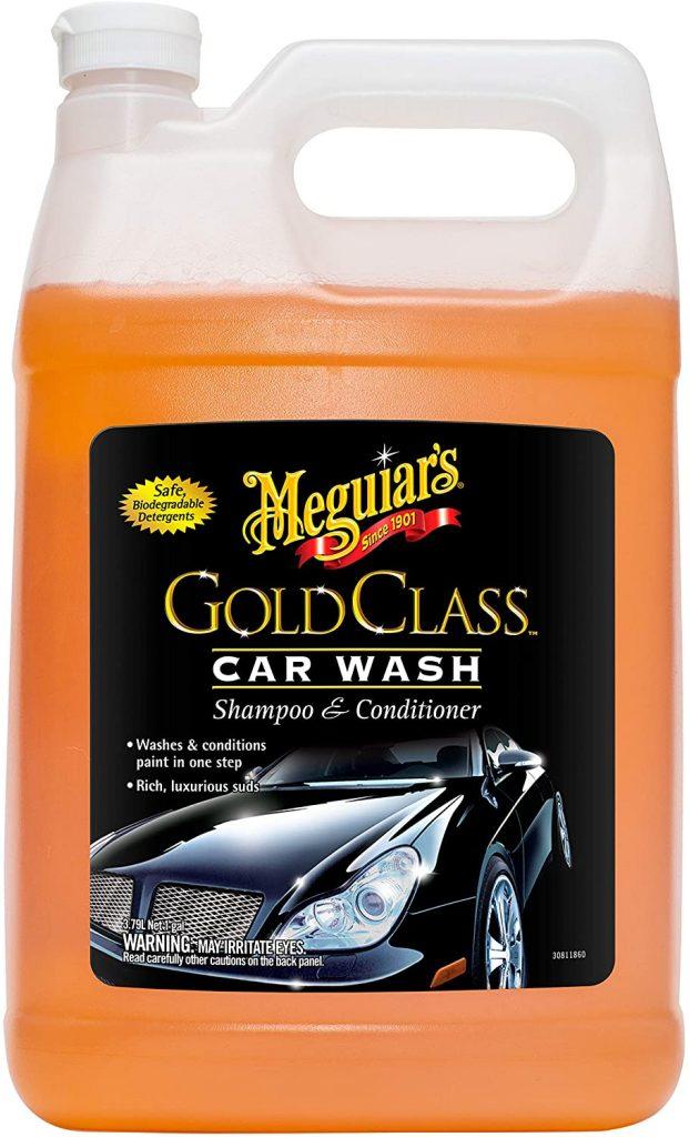 Station de lavage de classe Gold de Meguiar